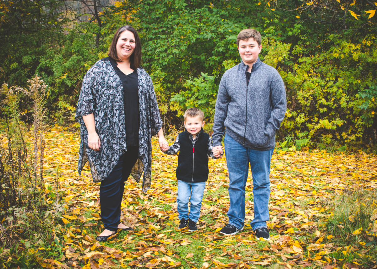 Hanrahan | Holiday Minis | New Albany Ohio Family Photographer