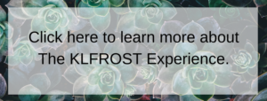 button to click on klfrost experience