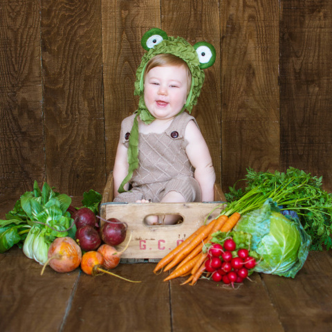 Northrup | Easter | Central Ohio Baby Photographer